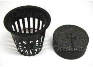 2 Inch Net Pot and EZ Clone Neoprene Collar Combo – 25 Pack