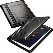 Alpha Passport Wallet 25 Quantity- $15.78 Each/Promotional Product/Bulk with Your Logo/Customized