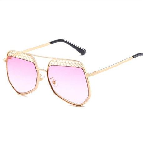 Moda Gafas Gold Vintage sexy Frame Claro Uv Diseñador de de Gafas la mujeres Gafas sol marca para de sol GGSSYY Protección Half de sol RqwpxT811g