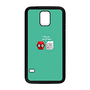 Samsung Galaxy S5 Cell Phone Case Black Freindzoned Dice SP4153045