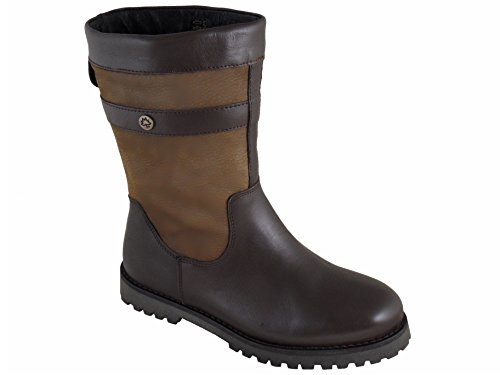Ladies Cabotswood Sudbury Waterproof Leather Boots Oak/Bison