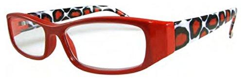 Sydney Love 8502 in Red Giraffe - Frames Sydney Glasses