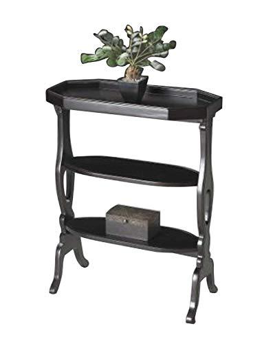 Accent Table Plum Black Furniture