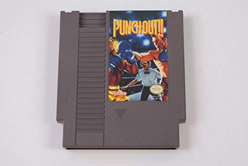 Punch Out - Nintendo NES (Renewed) (Mike Tyson Punch Out Video Game)