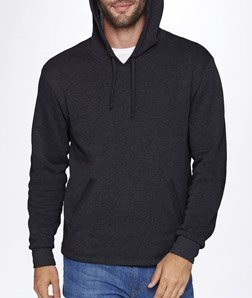Next Level Unisex PCH Pullover Hoody 9300 -Heather Blac L
