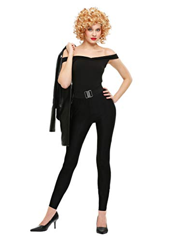 Fun Costumes Bad Sandy Women's Grease Movie Costume Medium Black ()