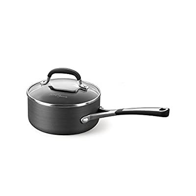 Simply Calphalon Nonstick 2-Quart Saucepan with Cover