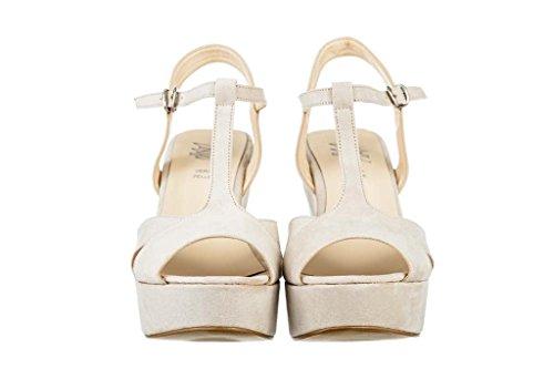 Sandalen Sandaletten aus Leder Schuhe Damen RIPA shoes - 31-2080