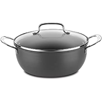 Cuisinart 650-26CP Chef's Classic Nonstick Hard-Anodized 5-Quart Chili Pot with Cover