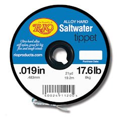 Rio Fly Fishing Tippet Hard Mono Saltwater 16Lb 110yd Fishing Tackle, Clear