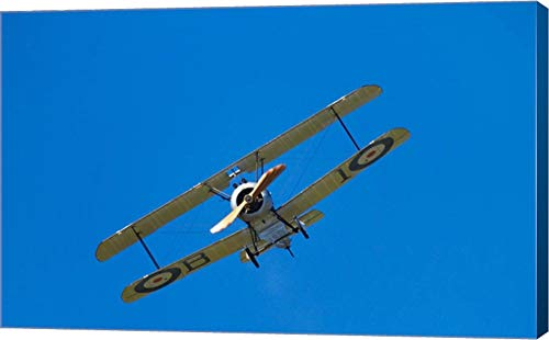 (Sopwith Camel, WWI Fighter Plane, War Plane by David Wall/Danita Delimont Canvas Art Wall Picture, Gallery Wrapped with Image Around Edge, 27 x 17)