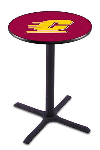 Holland Bar Stool L211B Central Michigan University Officially Licensed Pub Table, 28