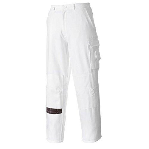 Portwest US817WHRXL Regular Fit Painters Pants, X-Large, ...