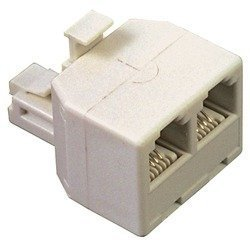 Coaxial Cable Feed - Rca Vh66n Coaxial Cable Feed Connectors 2 Pk by RCA