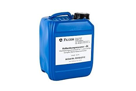 Compresor de pistón aceite 5 L para Mahle compresor/100001295: Amazon.es: Bricolaje y herramientas