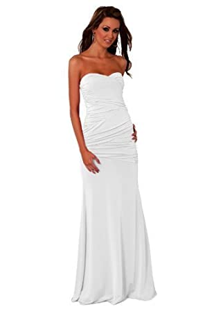 Strapless Long Designer Evening Gown Sexy Maxi Cocktail Dress Partywear clubwear Bridesmaid Evening Prom Dresses H3785
