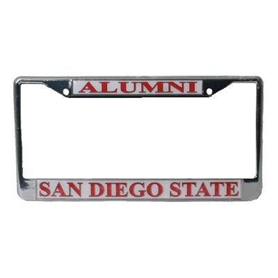 Amazon.com: San Diego State Aztecs Alumni Metal License Plate Frame ...