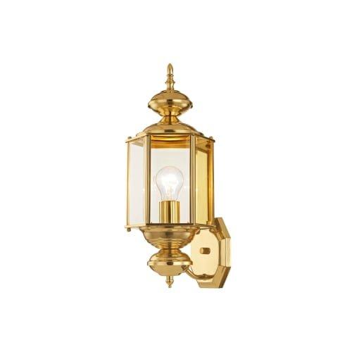 Outdoor Lighting Fixtures Polished Brass in US - 9