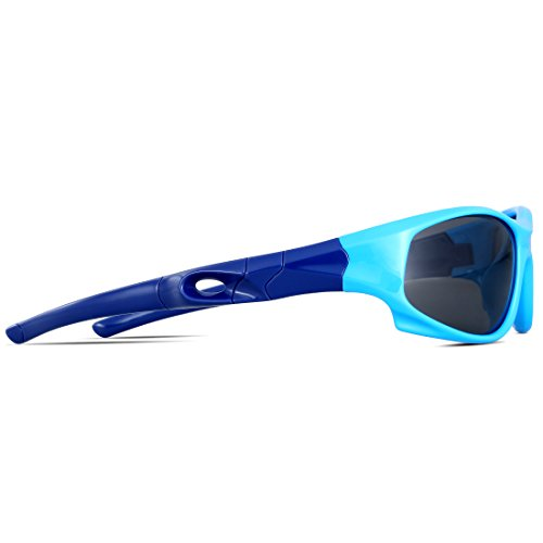 c7a80e99db ATTCL Kids Hot TR90 Polarized Sunglasses Wayfarer Style For - Import It All