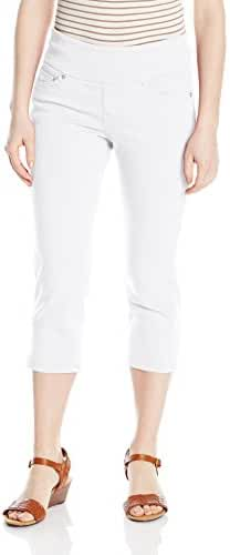 Jag Jeans Women's Petite Echo Cropped Pant In Dolce Twill