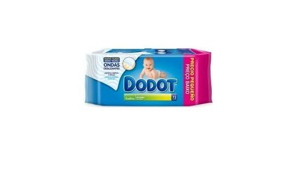 Toallitas DODOT Demoactive 288 unidades (4 paquetes de 72 unidades): Amazon.es: Bebé