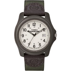 The Amazing Quality Timex Expedition Unisex Camper Brown/Olive Green