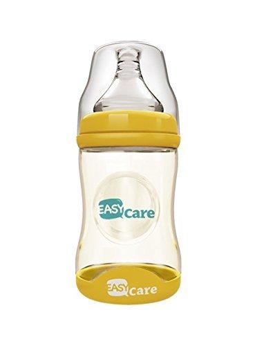 easycare-temperature-sensed-baby-bottle-160ml-ppsu-wide-calider-bottle-feeder-yellow