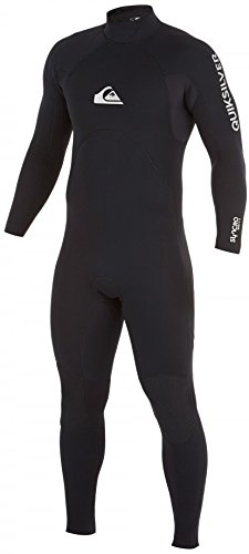 Quiksilver Mens 3/2mm Syncro Base Back Zip Full Wetsuit, ...