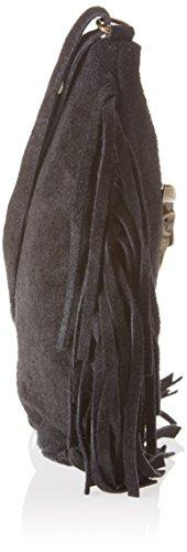 1518 Black Chicca Borse Noir bandoulière Black sac qfwC86