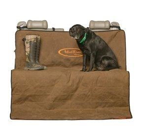 Review Mud River Brown Two Barrel Double Seat Cover, Brown, X-Large