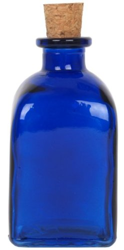 8.5 oz. Cobalt Blue Roma Glass Bottle