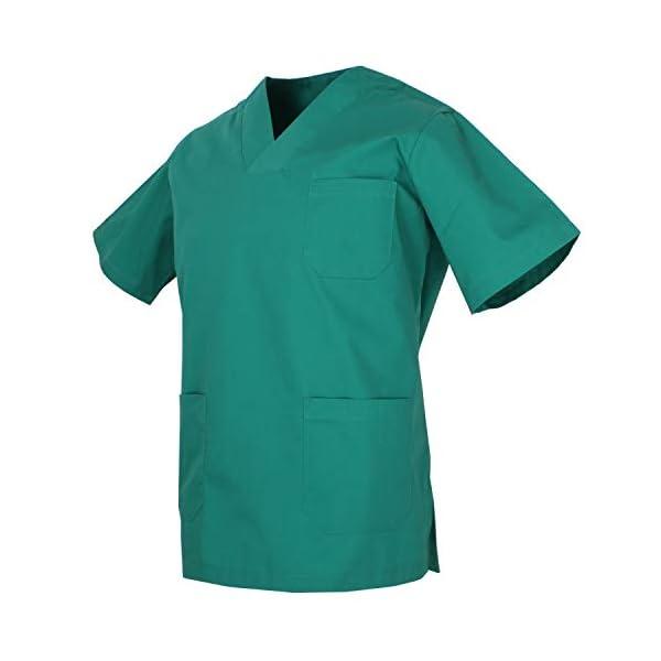 MISEMIYA - Casaca Unisex MÉDICO Enfermera Uniforme Limpieza Laboral ESTÉTICA Dentista Veterinaria Sanitario HOSTELERÍA - Ref.817 4