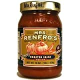 Renfro Fine Foods Salsa, Roasted, 16-Ounce (Pack of 6)