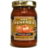 Mrs. Renfro's Roasted Salsa, 16 oz (6 Pack) by Renfro Fine Foods