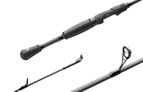 Lews Fishing, TP1 Black Speed Stick 1 Piece Spinning Rod, 6'9