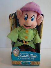 Disney Vintage Snow White and the Seven Dwarfs Dopey Plush Toy