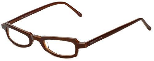 - Ellen Tracy Designer Reading Glasses ET3011-BRN-100 in Brown 47mm