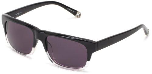 True Religion Jamie Rectangular Sunglasses, Black Clear, 55 - Religion True Sunglasses