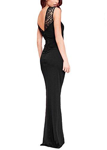 U8Vision - Vestido - Noche - para mujer negro