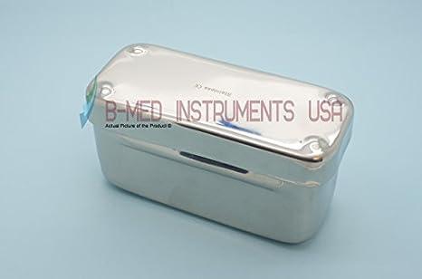 endontic caja acero inoxidable 72 agujeros Dental instrumentos ...
