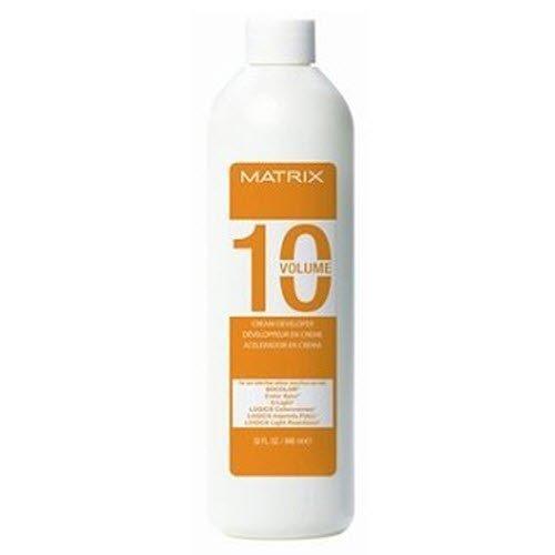 Matrix Socolor Cream Developer 10, 20, 30, 40 Volume (10 volume) by Matrix [Beauty] (Matrix Developer 30 Volume compare prices)