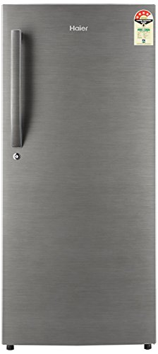 Haier 195 L 4 Star Direct-Cool Single Door Refrigerator (HRD-1954BS-E/HED-20FDS,Brushed...