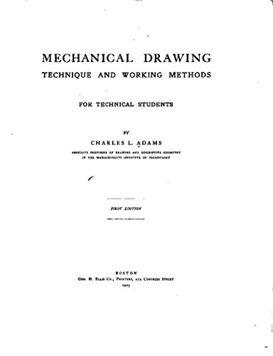 Mechanical Drawing, Technique and Working Methods, for - download ...