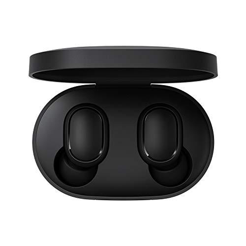 Xiaomi Redmi Airdots Bluetooth 5.0 Earphone Wireless Headphones with 300mAh Charging Box True Stereo Sound Mini Wireless Earphones IPX4 Sweatproof Mic Control