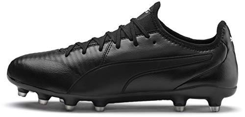 (PUMA King PRO FG Sneaker, Black White, 11 M)