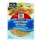 McCormick Lemon Pepper Dill Tilapia Recipe & Seasoning Mix, 1.06 oz