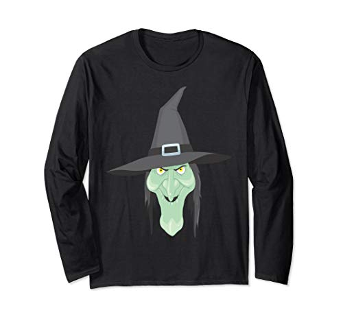 (Halloween Witch Good or Bad Witch Funny Long Sleeve)