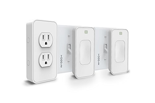 Switchmate Snap-On Smart Light Switch and Instant Smart Powe