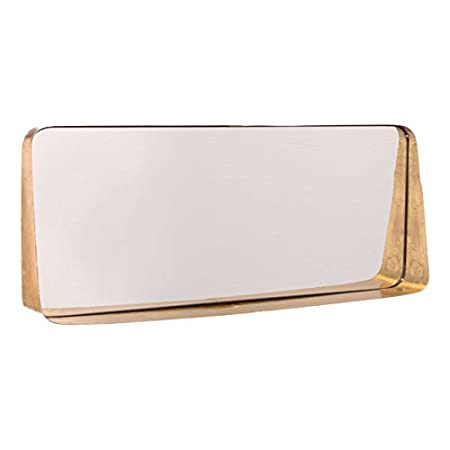 Zuo Mirror (Short), Gold by Zuo Modern