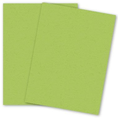 Popular Green Sour Apple - 8.5X11 (65C/175gsm) Lightweight Card Stock Paper - 25 sheets per (Apple Cardstock)